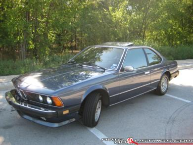 1985 BMW 6-Series 635csi